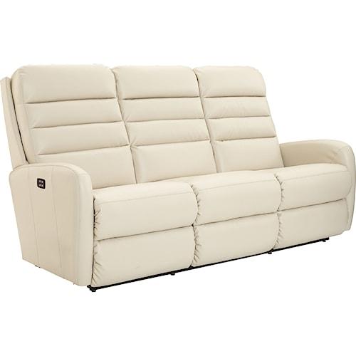 La-Z-Boy Forum Contemporary Power-Recline-XRw™ Wall Saver Reclining Sofa