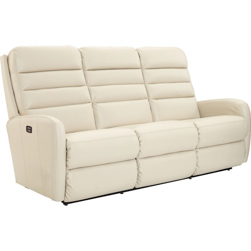 La-Z-Boy Forum Contemporary Power-Recline-XRw™ Wall Saver Reclining Sofa