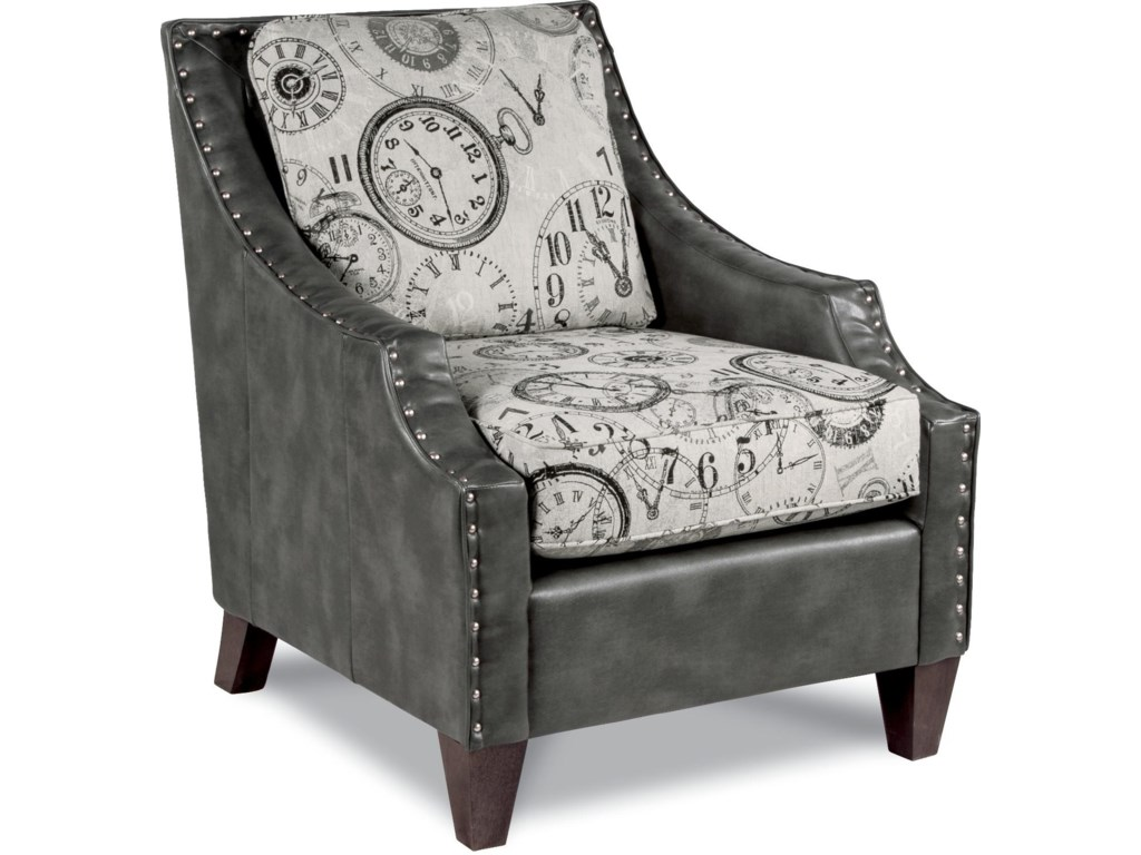 La-Z-Boy GATSBY Contemporary Chair with Scalloped Arms | Morris Home ...