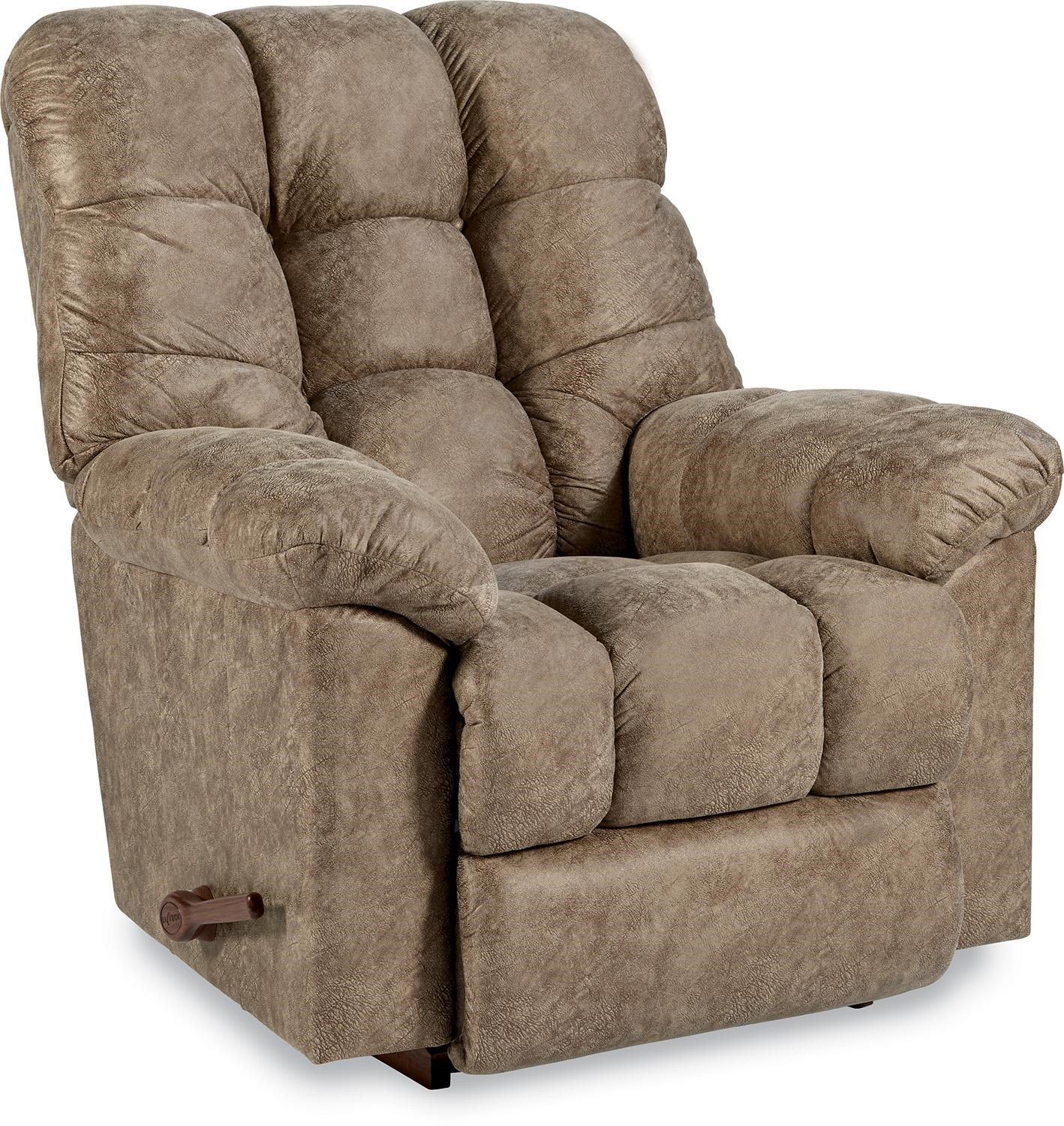Shown in Denver Silt D126738  sc 1 st  Conlinu0027s Furniture & La-Z-Boy Gibson Reclina-Rocker® Reclining Chair - Conlinu0027s ... islam-shia.org