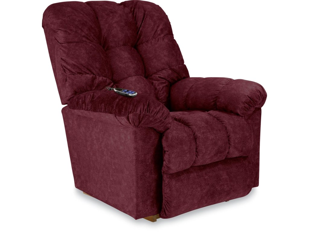 Recliner with Power Remote Shown. Cover Shown is No Longer Available from Manufacturer.