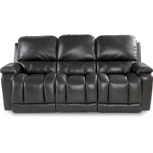 La-Z-Boy Greyson Casual La-Z-Time® Full Reclining Sofa with Bucket Seating