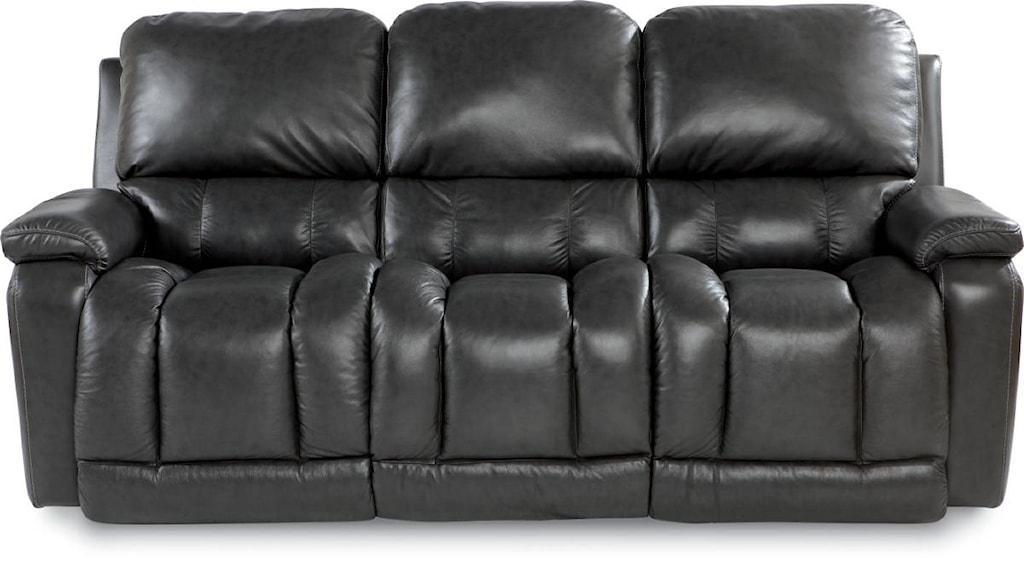 La Z Boy Greyson Casual Power La Z Time Full Reclining Sofa With
