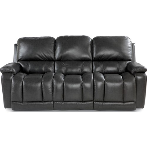 La-Z-Boy Greyson Casual Power La-Z-Time Full Reclining Sofa with Bucket Seating