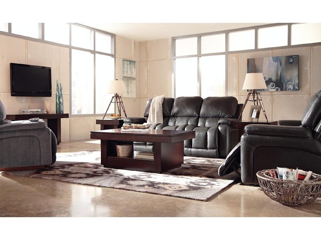 La-Z-Boy GreysonPower La-Z-Time®Full Reclining Sofa