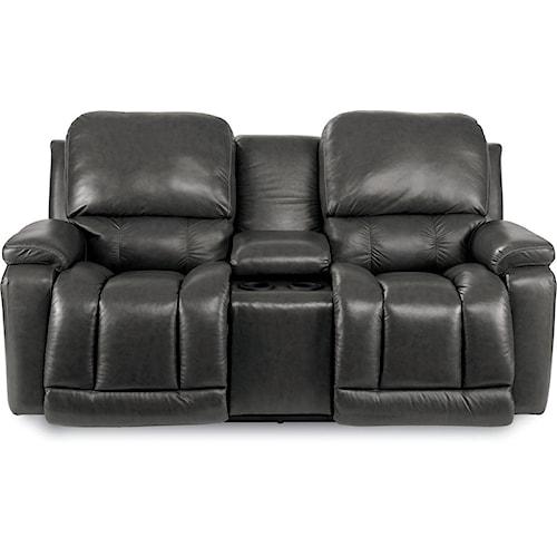 La-Z-Boy Greyson Casual Power La-Z-Time®Full Reclining Loveseat with Bucket Seating