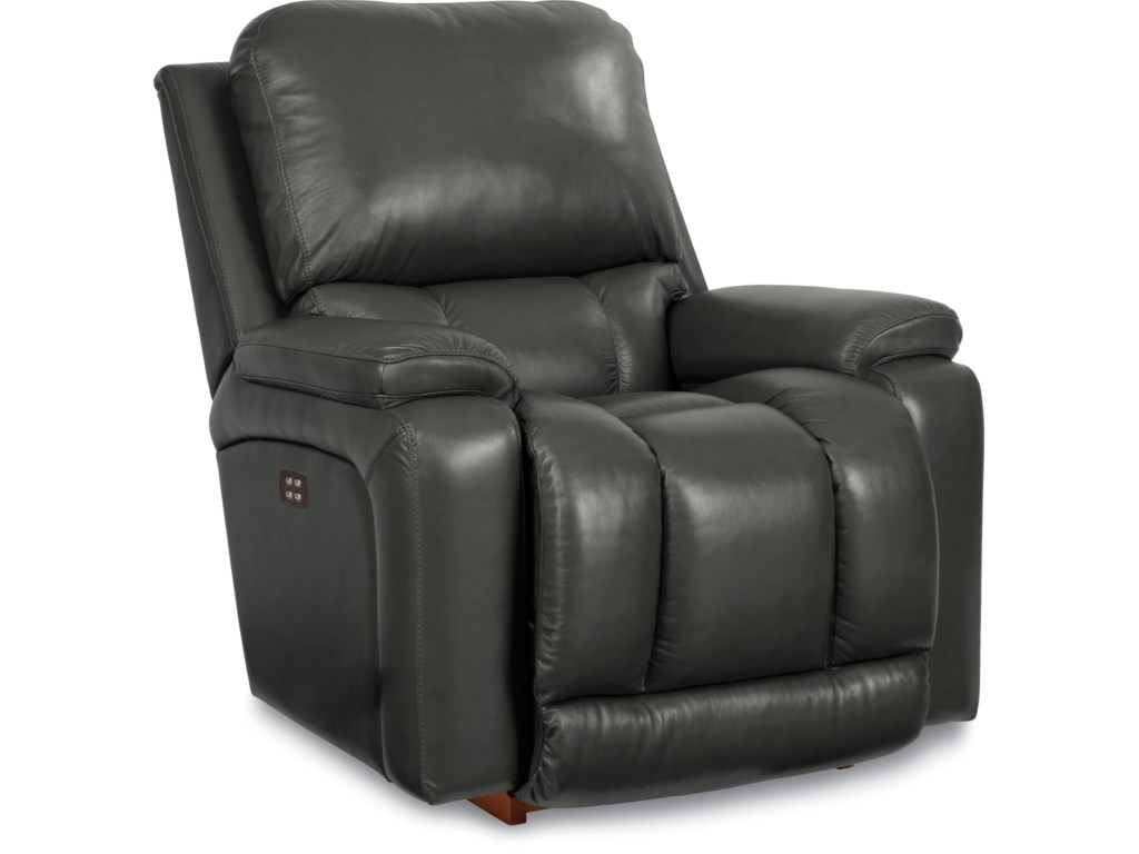 Greyson Casual Power-Recline-XR RECLINA-ROCKER Recliner with Bucket Seat by  La-Z-Boy at Walker\'s Furniture