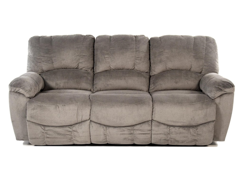 Nautilus Casual La-Z-Time® Full Reclining Sofa with Channel-Stitched Back  by La-Z-Boy at Rotmans