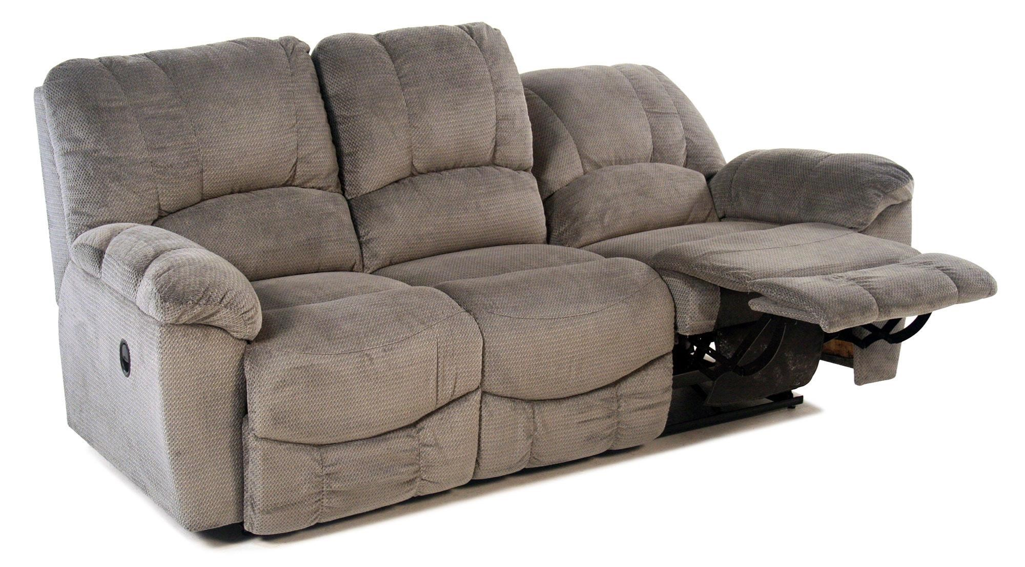 Nautilus Casual La Z Time® Full Reclining Sofa With Channel Stitched Back  By La Z Boy At Rotmans