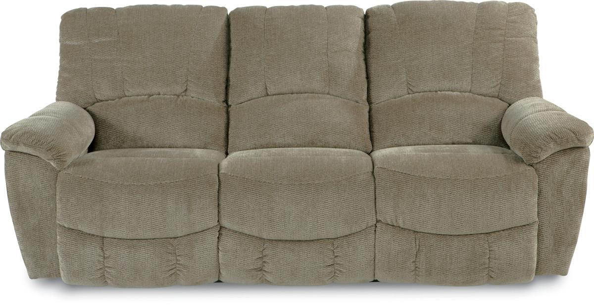 La Z Boy Hayes Casual La Z Time® Full Reclining Sofa With Channel Stitched  Back   Morris Home   Reclining Sofas