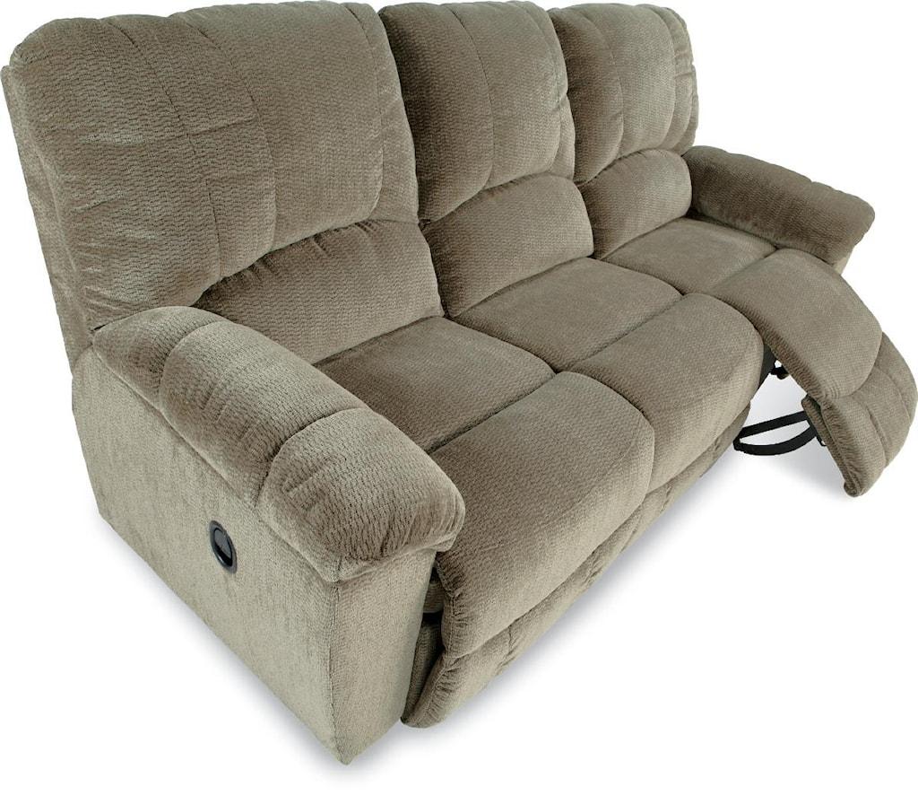 La Z Boy Hayes Casual La Z Time Full Reclining Sofa With Channel