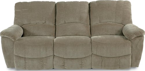 La-Z-Boy Hayes Casual Power La-Z-Time??Full Reclining Sofa with Channel-Stitched Back