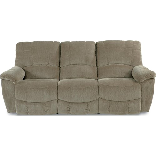 La-Z-Boy Hayes Casual Power La-Z-Time®Full Reclining Sofa with Channel-Stitched Back