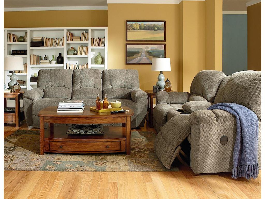 La-Z-Boy HayesPower La-Z-Time??Full Reclining Sofa