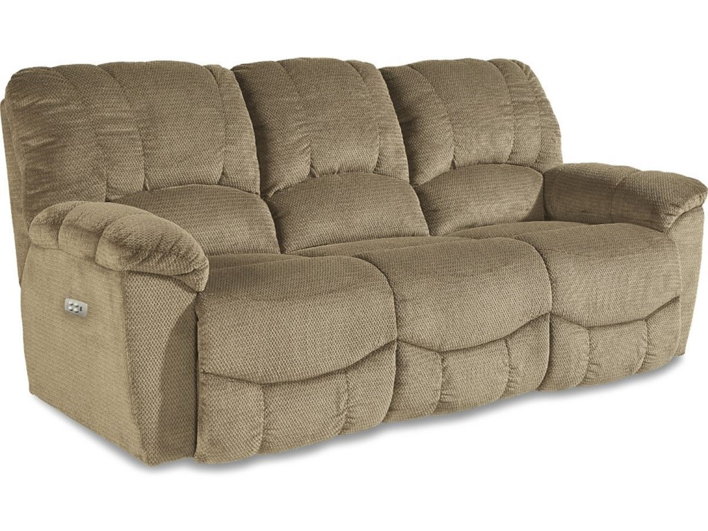 La-Z-Boy Hayes Casual La-Z-Time® Power Reclining Sofa with Power ...