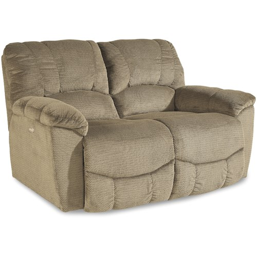 La-Z-Boy Nautilus Casual Power La-Z-Time®Full Reclining Loveseat with Channel-Stitched Back
