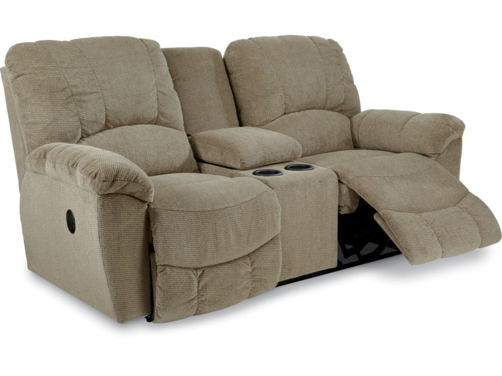 La-Z-Boy HayesLa-Z-Time® Full Reclining Loveseat w/Console
