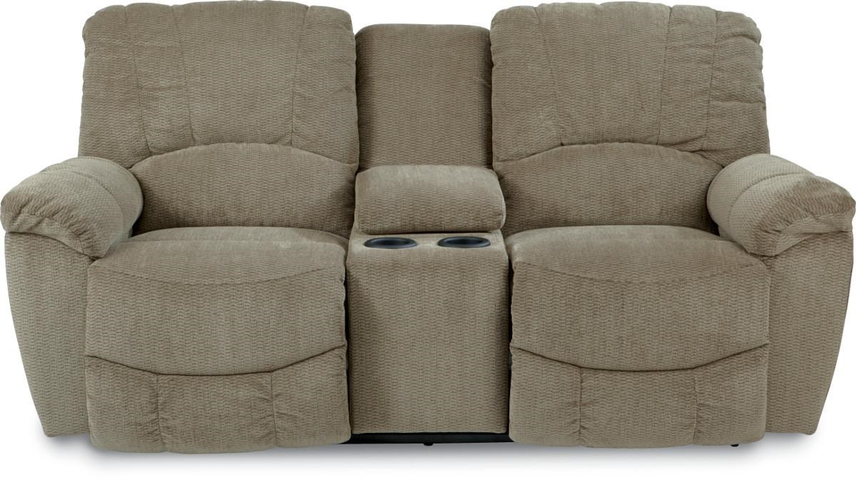 lazboy hayes power reclining loveseat with console homeworld furniture reclining love seats