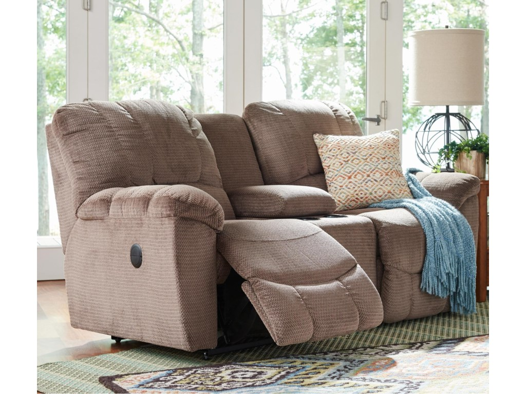 La-Z-Boy HayesPower La-Z-Time® Loveseat w/ Console