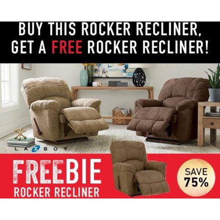 Hayes Recliner with Freebie!