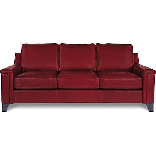 La-Z-Boy Hazel Contemporary Sofa with Comfort Core Cushion
