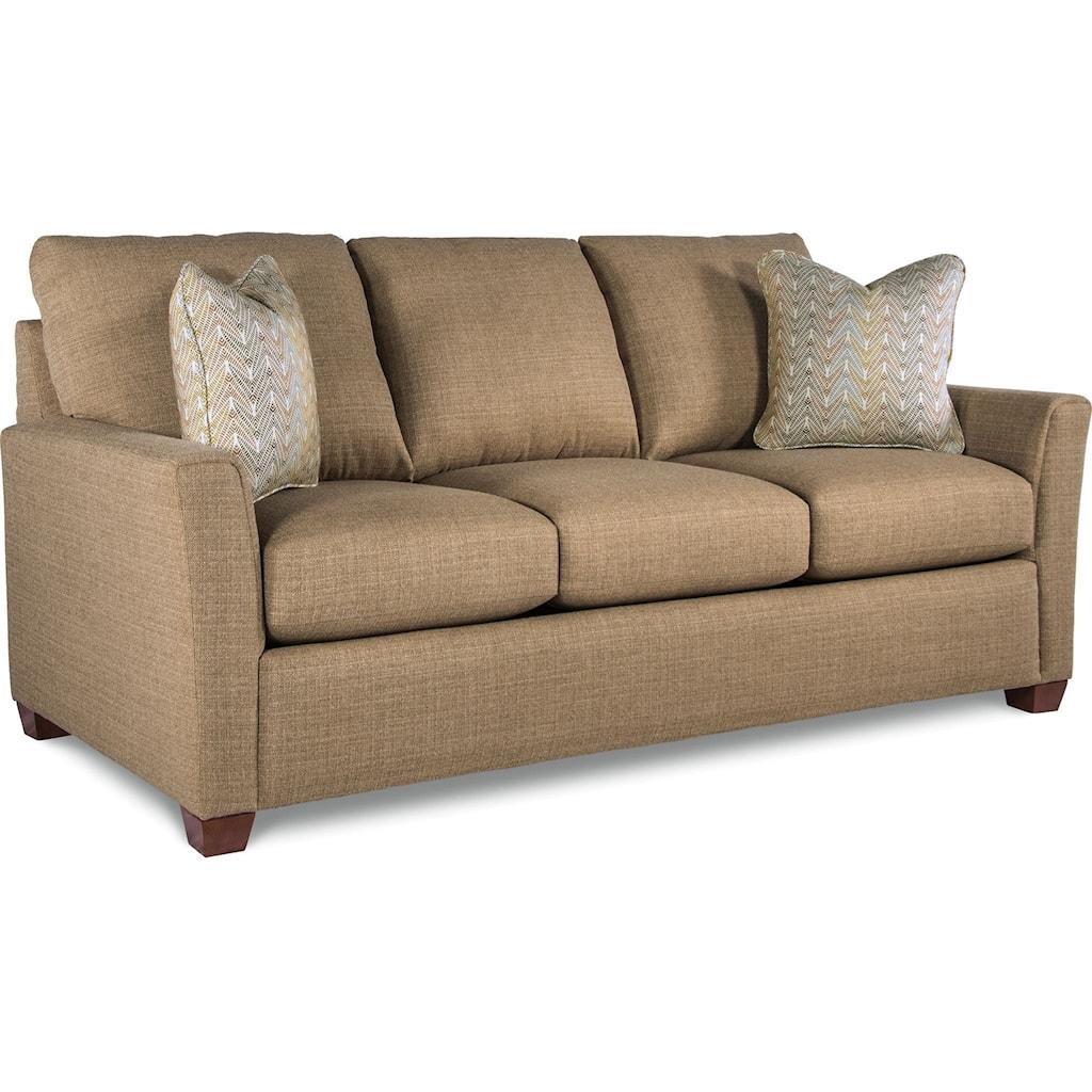 La Z Boy Jade Casual Supreme Comfort Queen Sleeper Sofa Morris  ~ Genuine Leather Sleeper Sofa