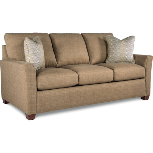 La Z Boy Jade Casual Supreme Comfort Queen Sleeper Sofa