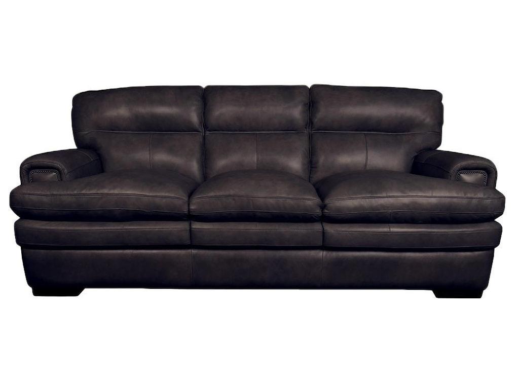Jake Top Grain 100% Leather Sofa by La-Z-Boy at Morris Home