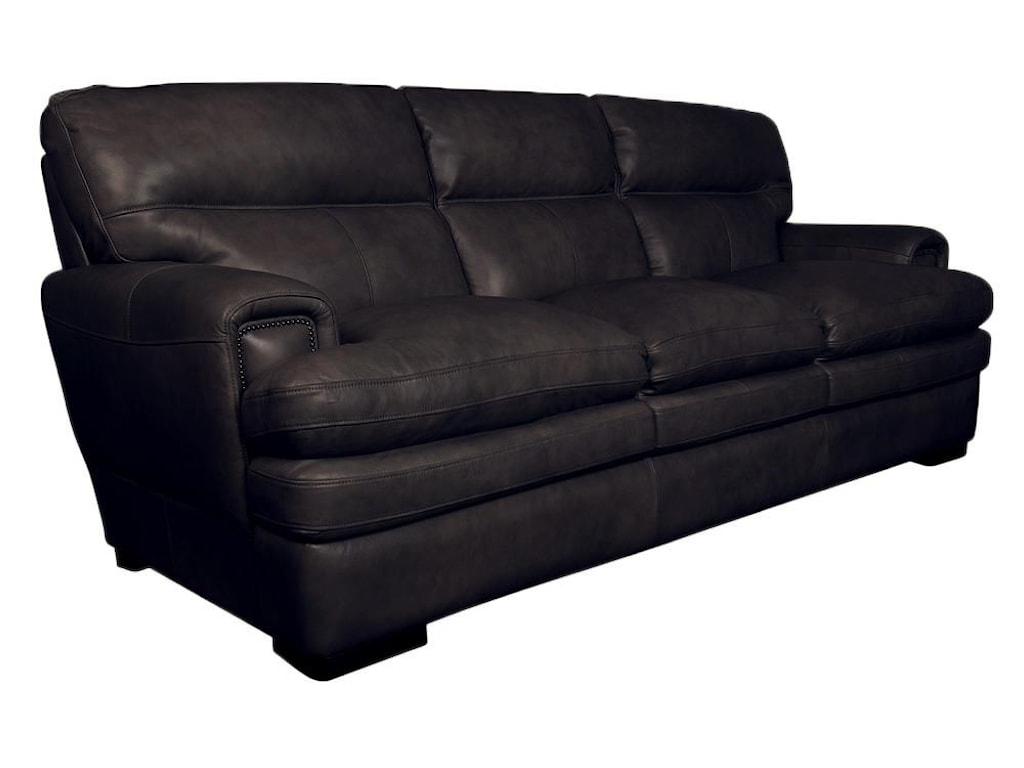 La-Z-Boy JakeJake Top Grain 100% Leather Sofa