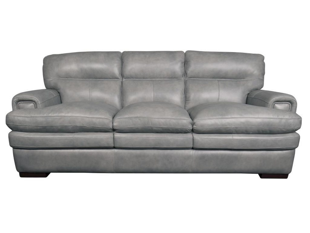 La-Z-Boy Jake Top Grain 100% Leather Sofa | Morris Home | Sofas
