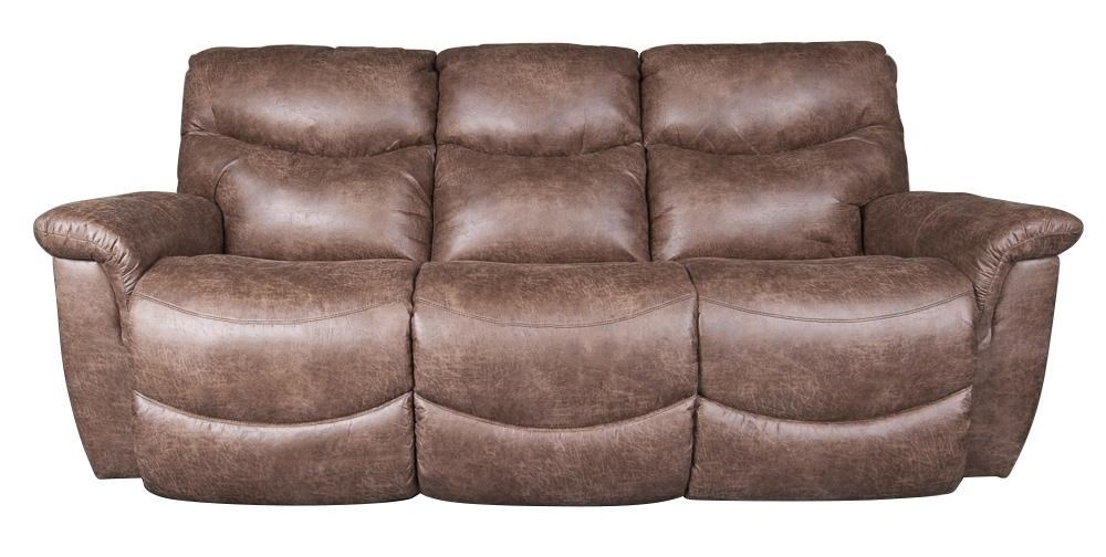La Z Boy James Casual Power Reclining Sofa Morris Home Reclining
