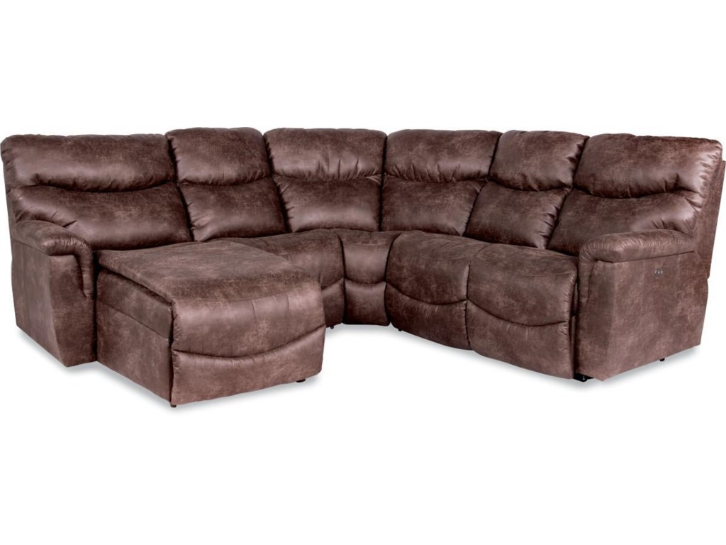 La-Z-Boy James4 Pc Reclining Sectional Sofa