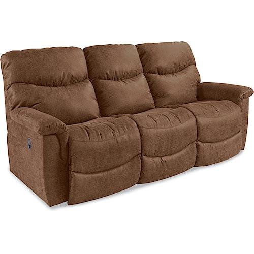 La Z Boy James Casual La Z Time 174 Full Reclining Sofa