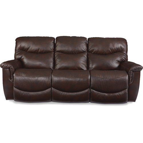 La Z Boy James Casual Power La Z Time Full Reclining Sofa Fisher
