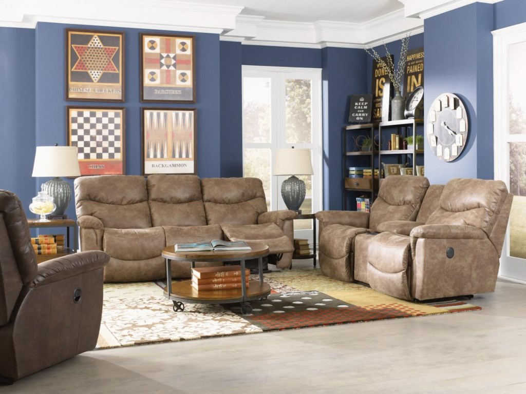 La-Z-Boy JamesPower La-Z-Time® Full Reclining Sofa