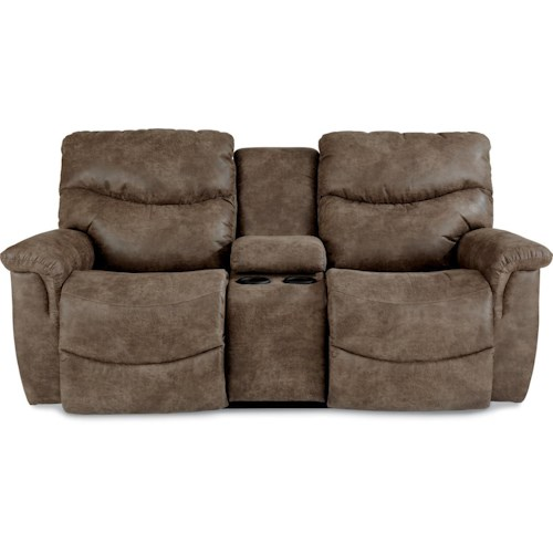 La-Z-Boy Palladin Casual Power La-Z-Time® Full Reclining Loveseat with Middle Console