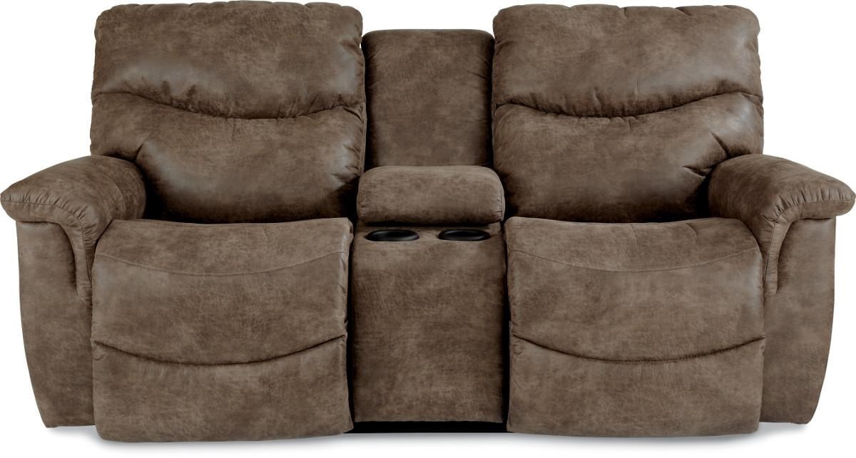La-Z-Boy James Power Reclining Loveseat with Console - HomeWorld Furniture - Reclining Love Seats  sc 1 st  HomeWorld Furniture & La-Z-Boy James Power Reclining Loveseat with Console - HomeWorld ... islam-shia.org