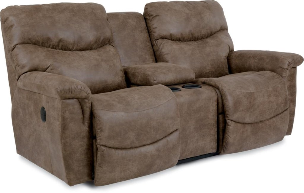 La Z Boy James Casual Power La Z Time Full Reclining Loveseat With