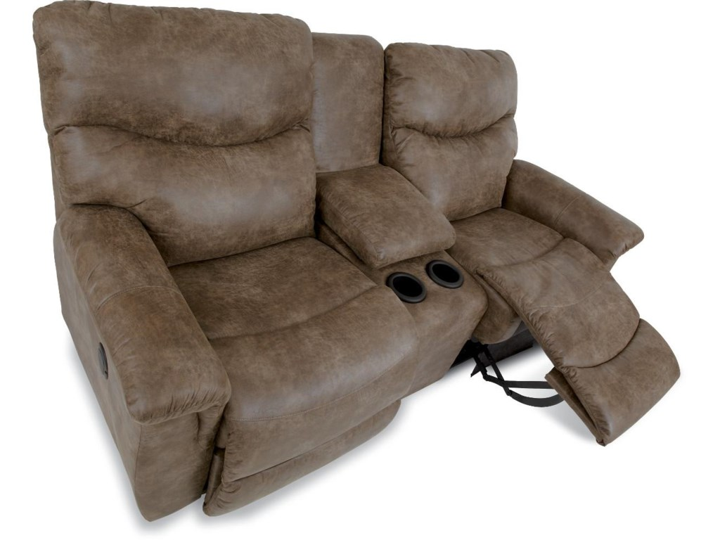 La-Z-Boy JamesPower Reclining Loveseat with Console