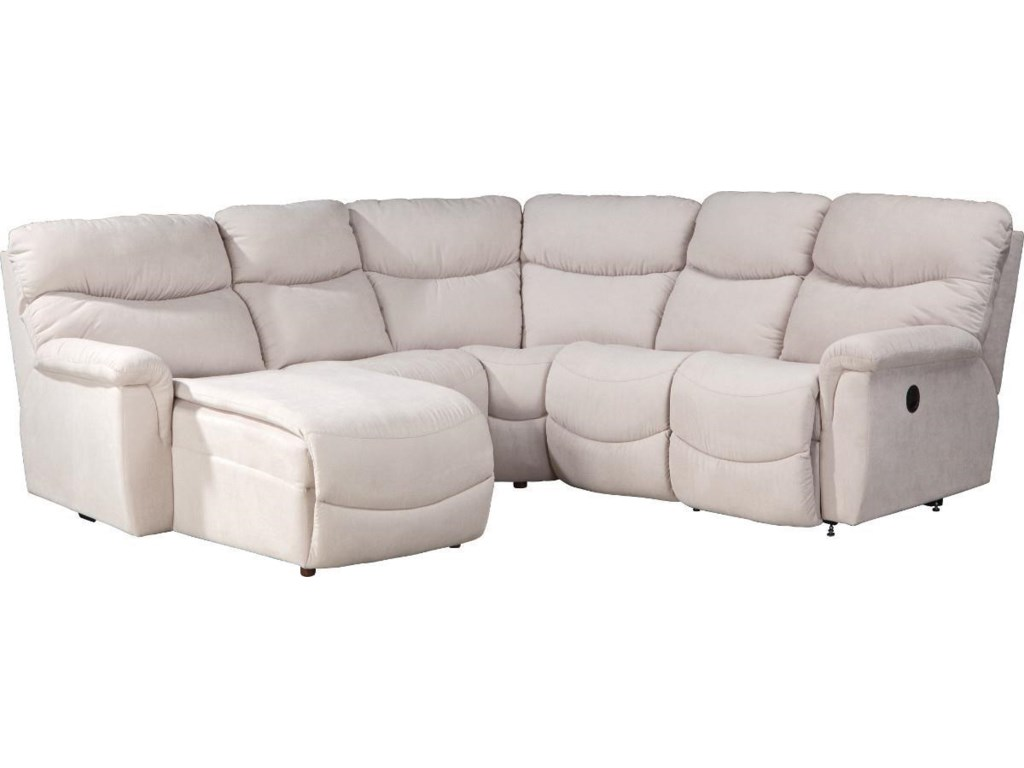 La-Z-Boy James4 Pc Power Reclining Sectional Sofa
