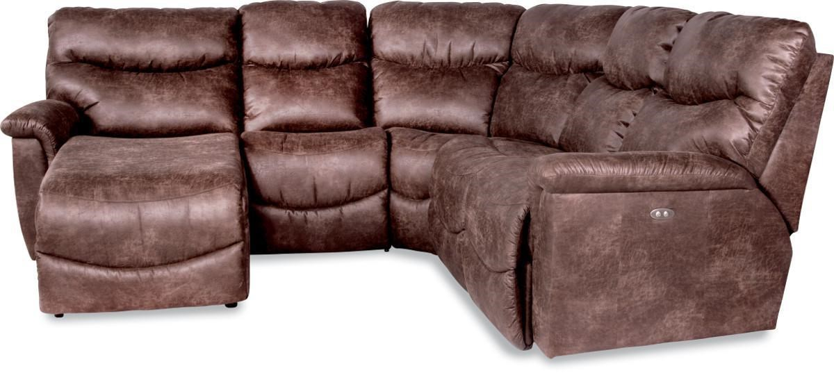 La Z Boy James4 Pc Power Reclining Sectional Sofa ...