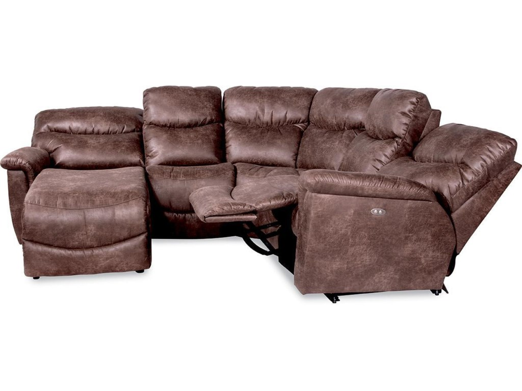 La-Z-Boy James4 Pc Power Reclining Sectional Sofa