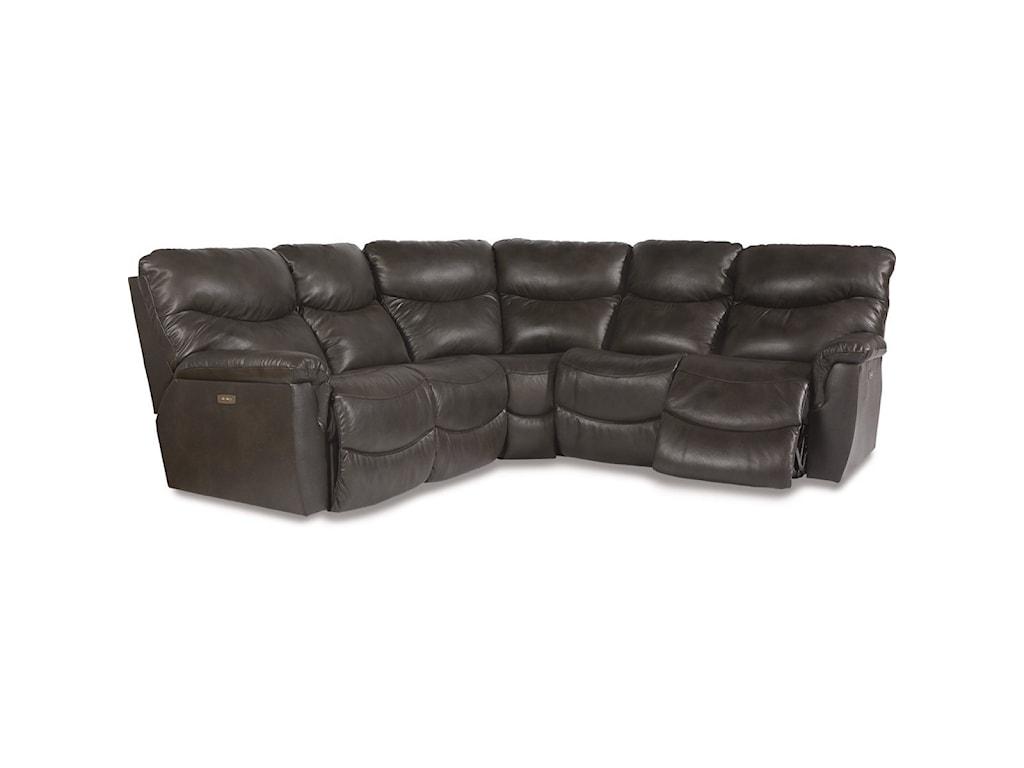 La-Z-Boy James3 Pc Power Reclining Sectional Sofa