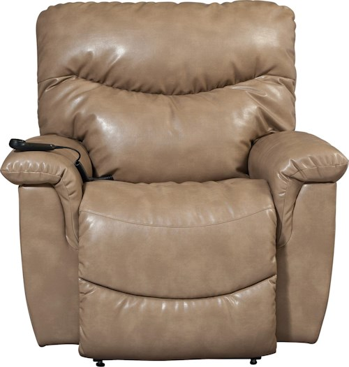 La-Z-Boy James Casual Power-Recline-XR+ RECLINA-ROCKER® Recliner