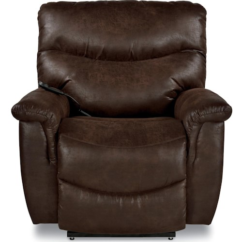 La-Z-Boy James Casual Silver Luxury Lift? Power Recliner