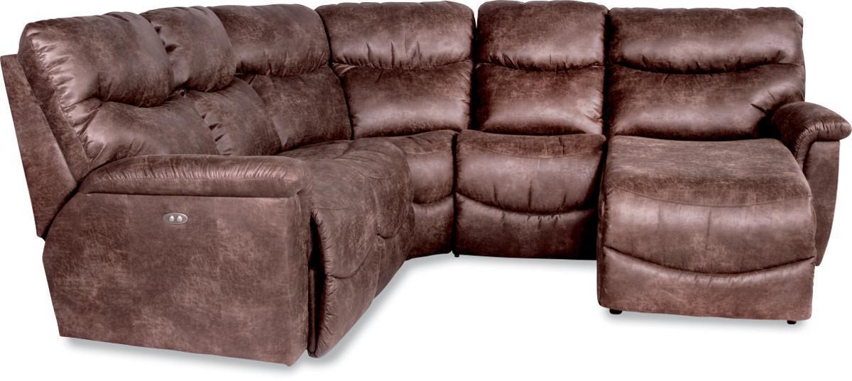 La Z Boy James4 Pc Reclining Sectional Sofa ...