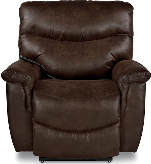 La-Z-Boy James Casual Power-Recline-XRw™ Wall Saver Recliner