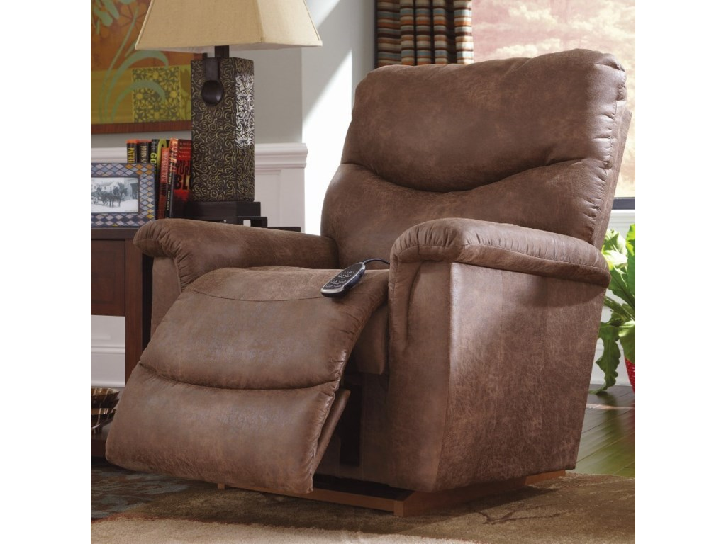 La-Z-Boy JamesPower-XR RECLINA-ROCKER® w/ Massage & Heat