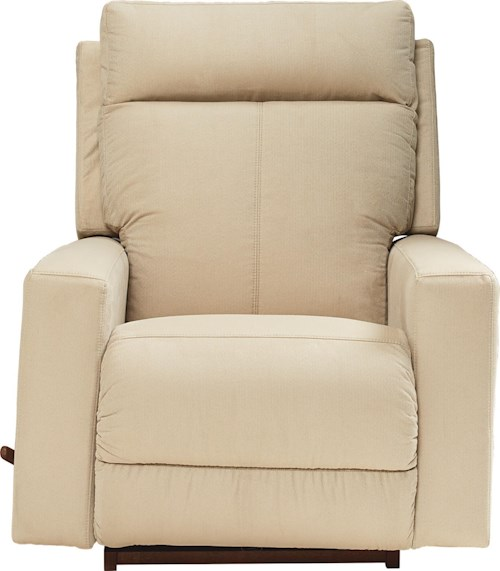 La-Z-Boy Jax Contemporary RECLINA-ROCKER® Recliner with Topstitch Detailing
