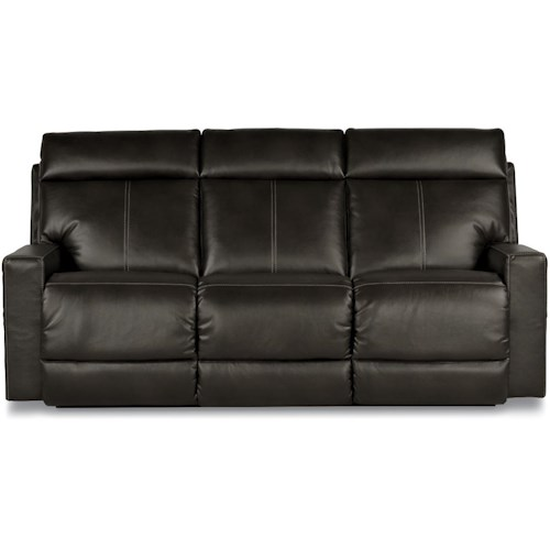 La-Z-Boy Jax Contemporary Reclining Sofa with Topstitch Detailing